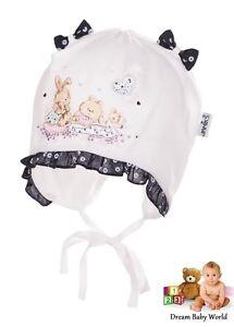 94e6c2ad8f0 JAMIKS 100% Cotton girls sun hat TIE UP Summer size 0 - 12 months ...
