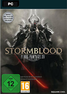Final Fantasy Xiv Stormblood Addon Eude Pc Ff 14 Dlc Cd Key