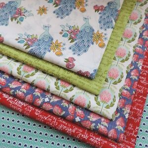 1-liquidation-Couette-dans-le-jardin-tissu-de-coton-collection-by-Riley-Blake