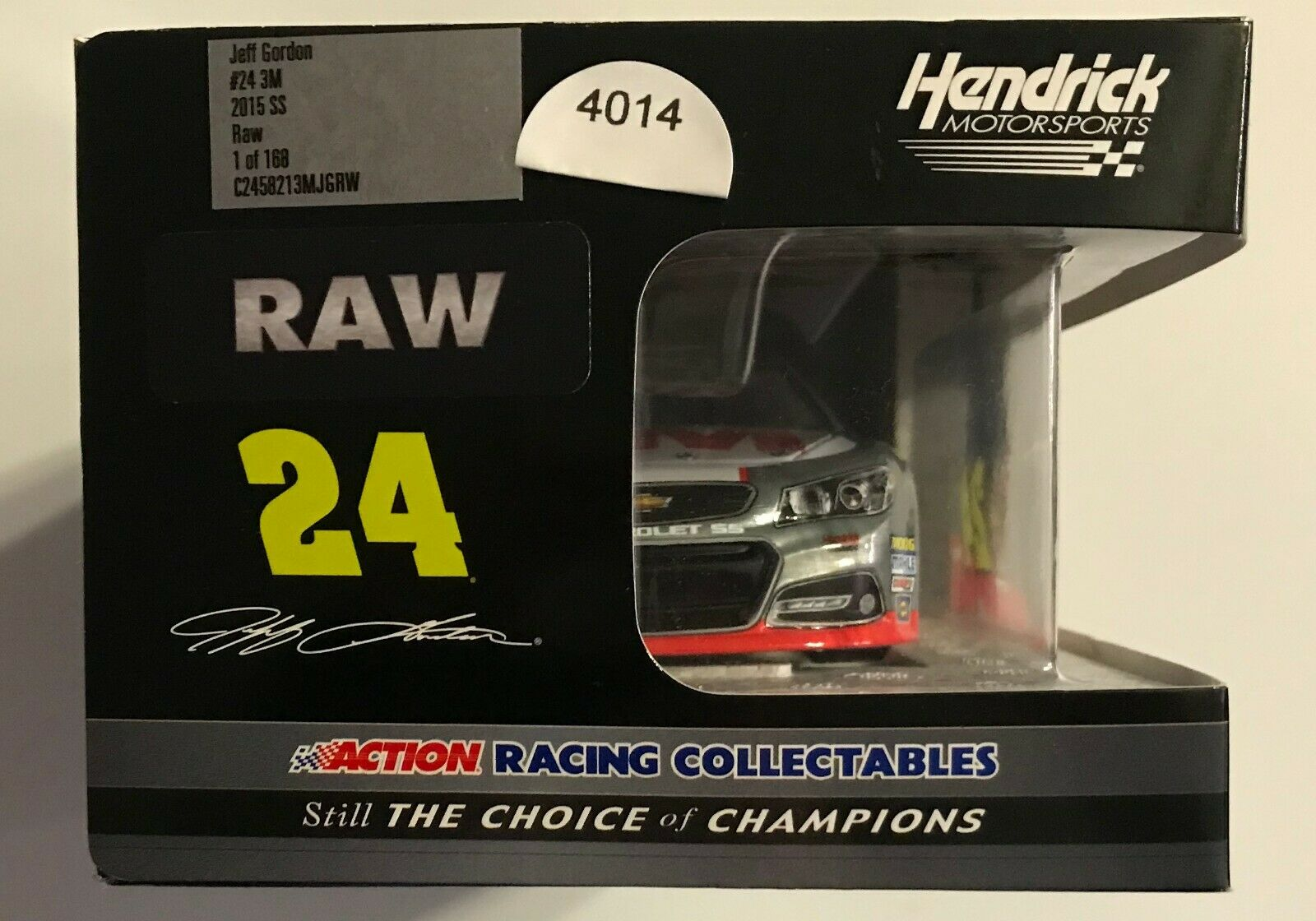2015   24 JEFF GORDON  - 3M  - RAW - 1 24th SCALE    4014