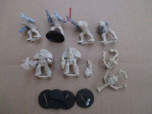 D11C24 LOT BITS SPACE HULK LIBRARIAN STEALER HYBRID WARHAMMER W40K USED DAMAGED