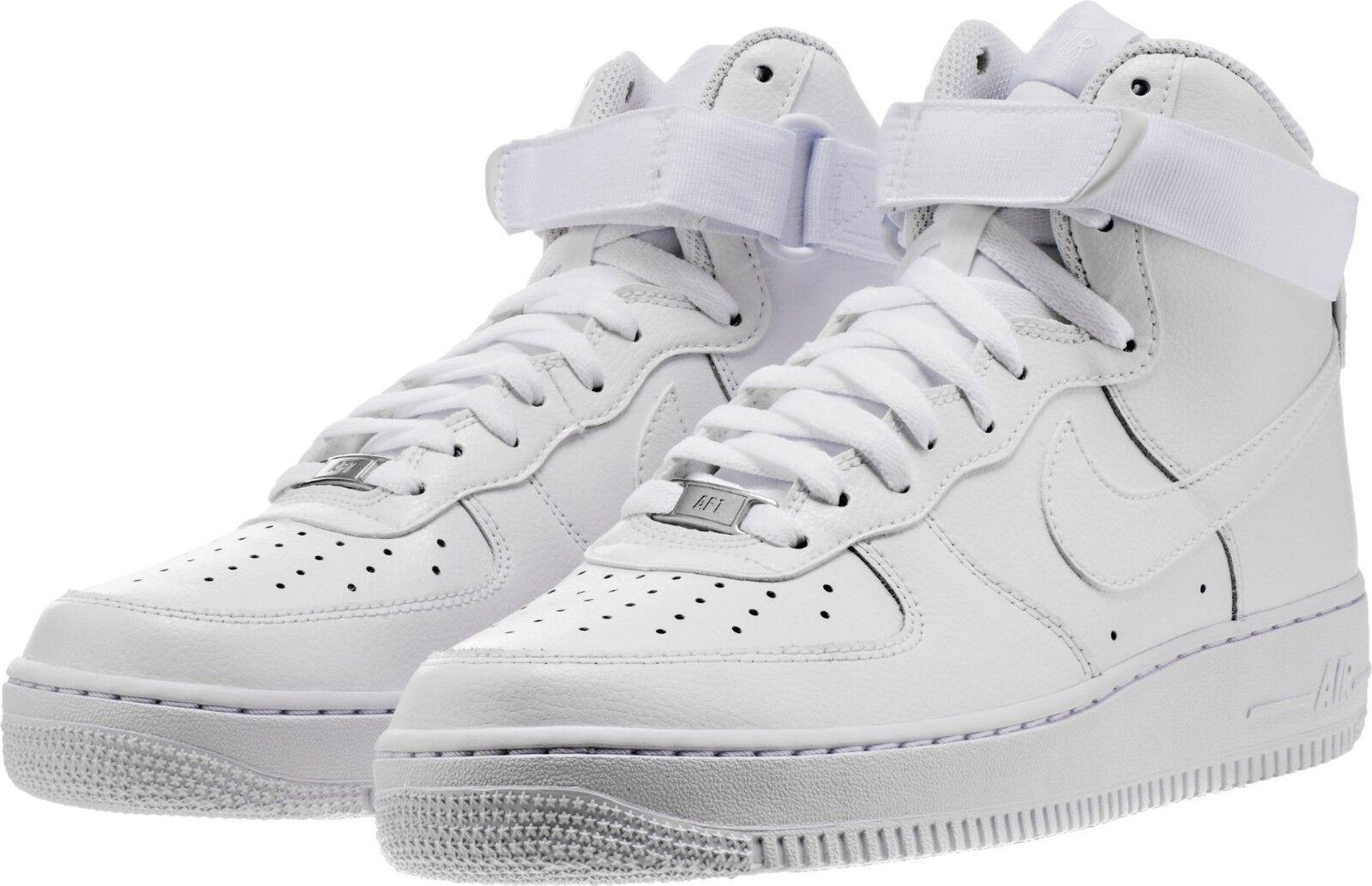 Men's Nike Air Force 1 High '07 Lifestyle White White Sizes 8-12 NIB 315121-115