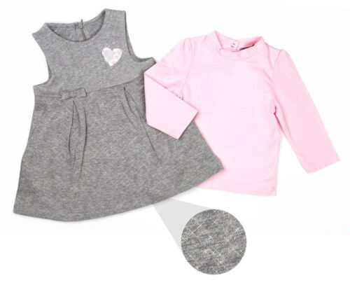 girls cotton rich dress and top stylish and perfect for all occasions 3 to 24 mo