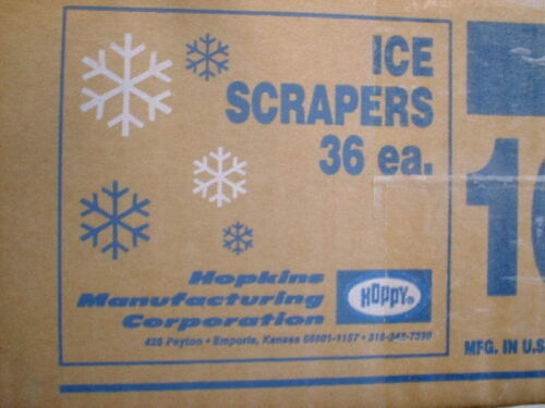 HOPKINS HOPPY 36 Assorted colors ICE SCRAPERS 10/'IN  Heavy Duty Strong $20.00 $$