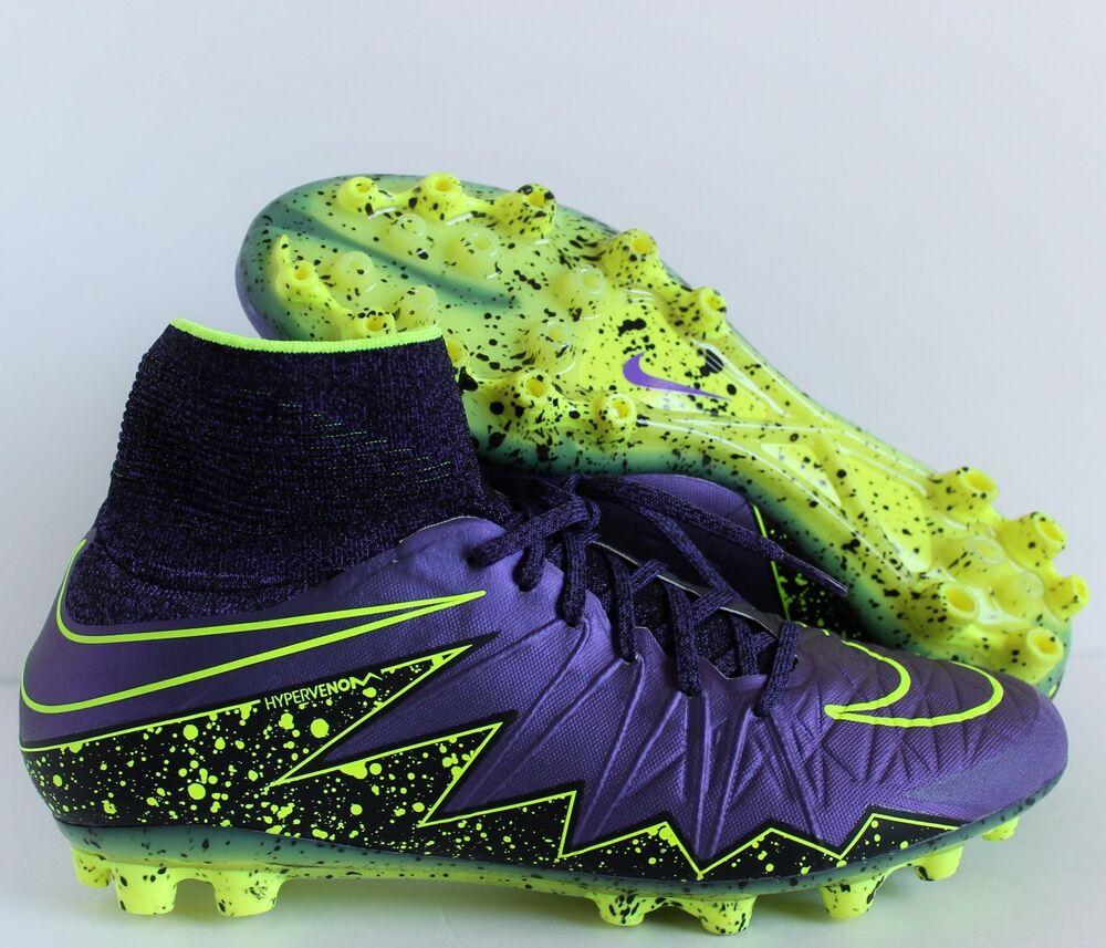 NIKE HYPERVENOM PHANTOM II 2 AG HYPER GRAPE-VOLT Homme  Chaussures de sport pour hommes et femmes