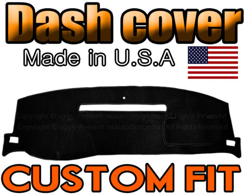 fits 2007-2013 CHEVROLET  AVALANCHE DASH COVER MAT DASHBOARD PAD BLACK