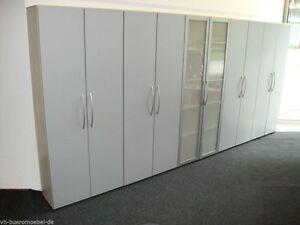 Büromöbel schrank  Aktenschrank Büro Schrankwand 5tlg. Aktenschränke Schrank ...