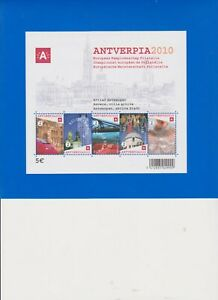 """BELGIE  BELGIQUE   BELGIUM  2008 BF 153**    ANTVERPIA  2010    5 x """"1"""" BEL   /"""