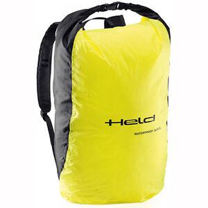 Held Rain Pouch Black / Yellow Motorcycle Waterproof Backpack ...