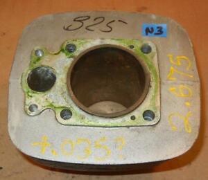"""1968-70 BSA B25 Triumph TR25 250 USED cylinder barrel +.035""""? bore good FINS -N3"""