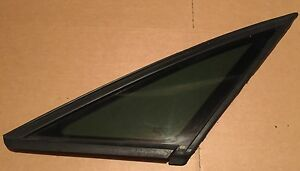 AUDI A2 2000-2005 OS FRONT DRIVER RIGHT SIDE FRONT QUARTER GLASS WINDOW