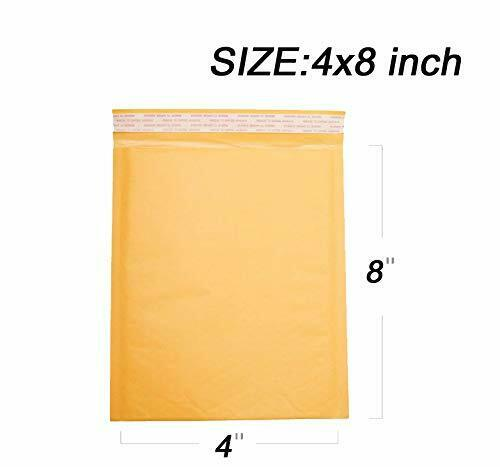 New Chic Poly Bubble Mailers Padded Envelopes Self Seal Bag Shipping Bags