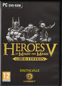 Heroes of Might and Magic V Gold Edition Windows 7/8/10 Brand New Factory Sealed