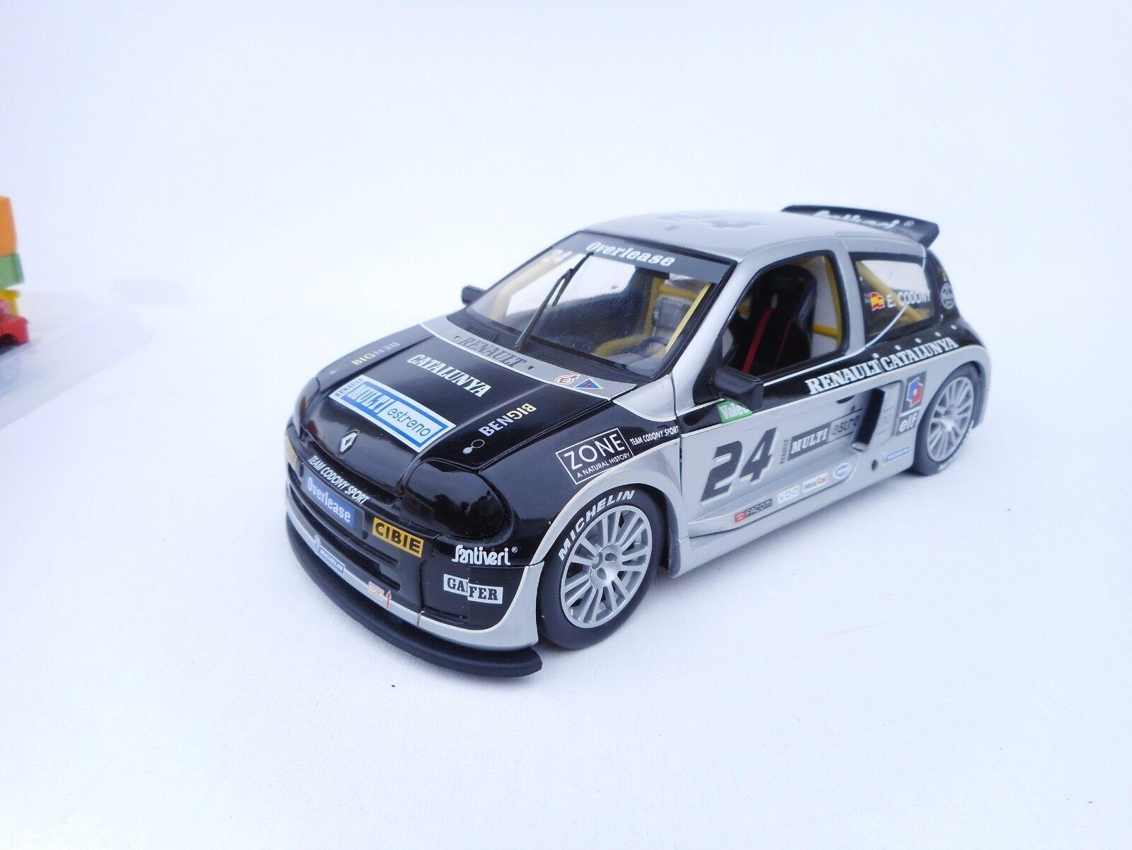 UNIVERSAL HOBBY 1 18 - Renault sport Clio Trophy    Renault Catalunya   24 NM 55a769