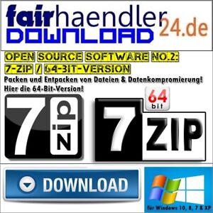 7-ZIP-64Bit-7ZIP-UNZIP-WINZIP-WINRAR-RAR-Software-Tool-Dateien-entpacken-packen