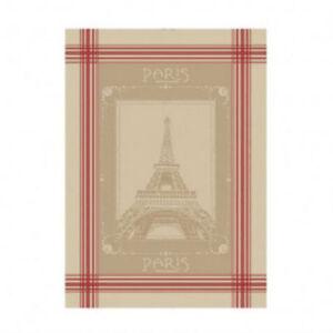 French Kitchen Dish Tea Towel Jacquard Paris Eiffel Tower 100