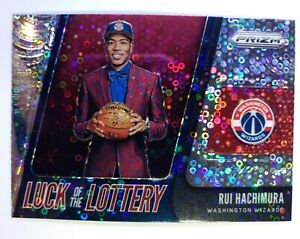 2019-20-Panini-Prizm-Luck-of-the-Lottery-Fast-Break-Rui-Hachimura-Rookie-RC-9