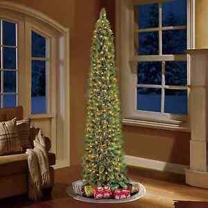 Pre Lit 7 Green Shelton Cashmere Artificial Christmas