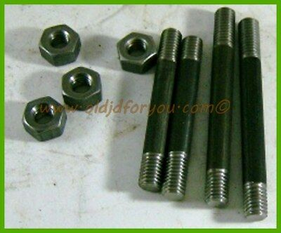 Heavy Equipment, Parts & Attachments Antique & Vintage Equipment Parts Hearty B1314r A126r R2622r *john Deere B Br Bo Manifold Stud Kit With Heavy Nuts Usa Easy To Lubricate