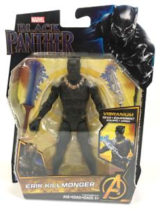 Erik-Killmonger-6-034-Brand-New-Marvel-Black-Panther-Movie-Action-Figure-NEUF