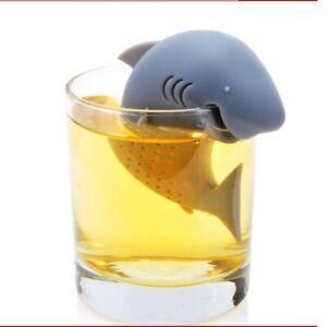 Shark Tea Infuser Funny Animal Shaped Loose Leaf Tea Strainer Reusable Filter