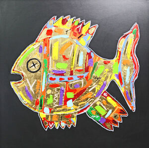 ABSTRAKTE-BILDER-ART-PICTURE-MODERN-Leinwand-ACRYL-GEMALDE-MALEREI-Unikat
