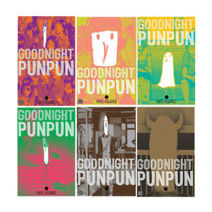 Goodnight Punpun  6 Books Collection Set By Inio Asano Paperback NEW UK 9789123624683