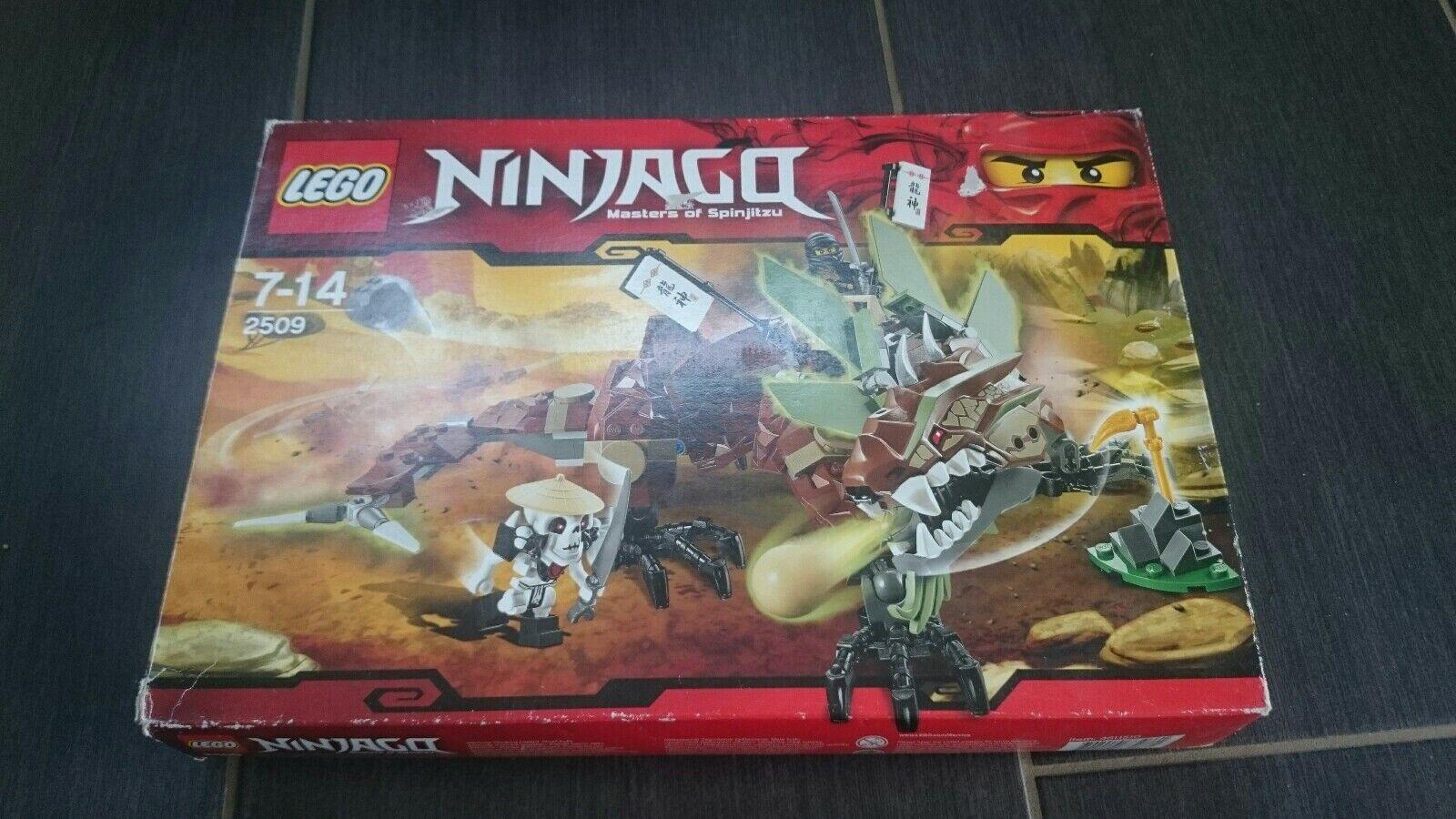 LEGO Ninjago 2509 erddrache  Masters of Spinjitzu 8-14  servizio di prima classe