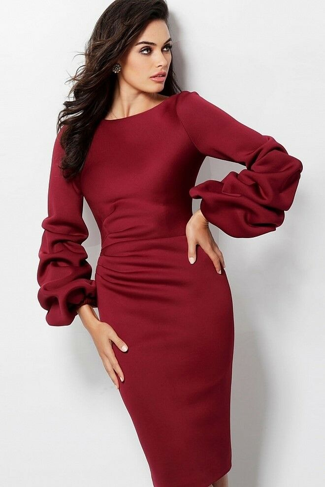 NWT Designer Long Sleeve Dress Size 12