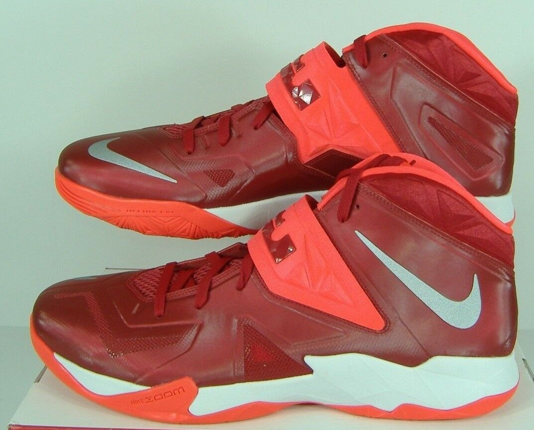 4ae0bd790f24 New Mens 18 Nike Zoom Soldier VII TB Gym Red Red Red Bright Crimson Shoes 145  599263-600 52d865