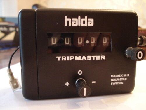 Halda Tripmaster Complet Decal Set