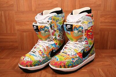 competitive price 51d6d f7345 ShoeZeum Nike Zoom Force 1 I One DKYS Danny Kass Air Snowboarding Boots  Size 9.5