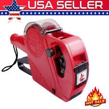 Mx5500 Eos 8 Digits Price Tag Gun Pricing Machine Amp Label Roll Ampink Roller G3o3