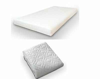New Baby Toddler Breathable cot bed Spring Mattress Quilted 140 X 70 X 10 Cm