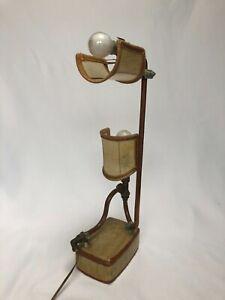 LAMPE-DESIGN-VINTAGE-ROBINETTERIE-1960-AVEC-ABAT-JOUR-Z24