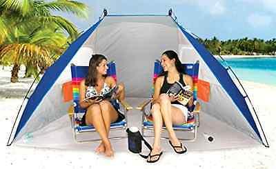 Rio Beach Portable Sun Shelter / Cabana Camping Outdoor Shade Canopy Tent Awning