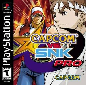 Capcom-Vs-SNK-Pro-PS1-Great-Condition-Fast-Shipping