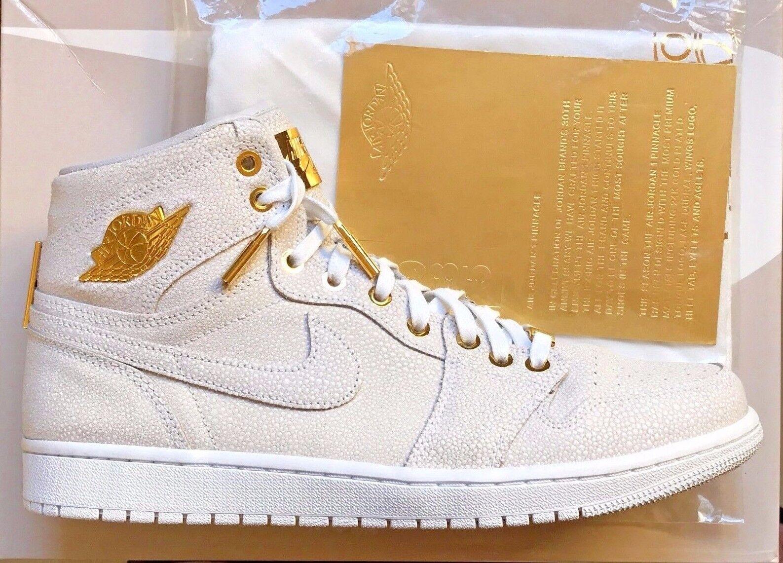 Nike Air Jordan 1 Pinnacle 24K Gold