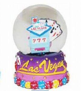 Das Bild Wird Geladen Schneekugel Las Vegas Nevada Welcome Sign Spielautomat Souvenir