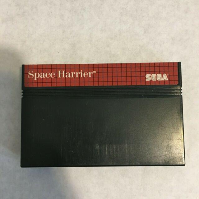 Space Harrier Sega Master SYSTEM GAME CART