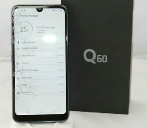 LG Q60, Modell: LM-X525EAW, schwarz, Smartphone, 64GB - Teildefekt - Hofgeismar, Deutschland - LG Q60, Modell: LM-X525EAW, schwarz, Smartphone, 64GB - Teildefekt - Hofgeismar, Deutschland