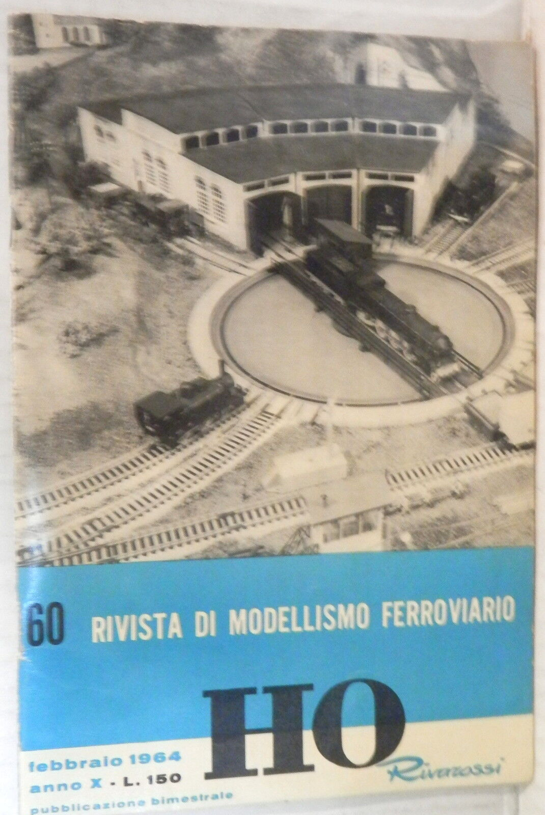 Magazine Model Rail Rivarossi HO N 60 February 1964 Trains Railroad