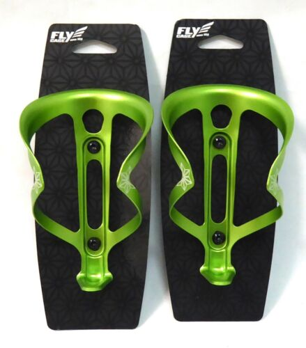 Supacaz Fly Cage Ano Neon Green Pair