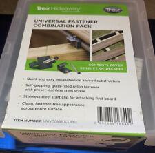 Hidden Fasteners 50sq Ft Coverage Universal Fasteners Brand New Unopened