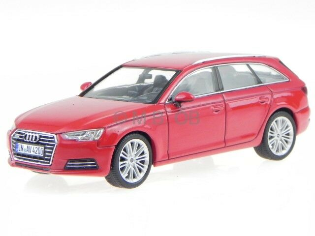 Audi A4 B9 Avant 2015 tango red modelcar Spark 1 43