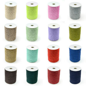 20yds-Roll-Beading-Nylon-Threads-Round-Stringing-Cords-16-Color-Full-Spool-5mm