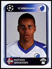 Mathias Jorgensen FC Kobenhavn #249 UEFA Champions League 2010-11 Sticker (C199)
