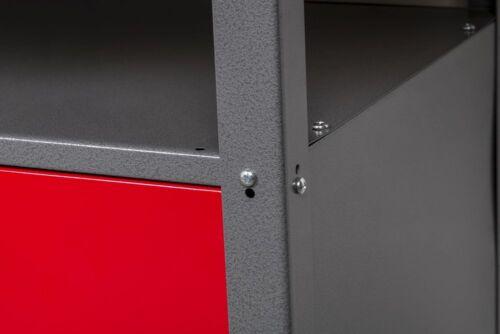 Kreher Werkstatt 3tlg Werktisch Werkbank abschließbar Hakensortiment Lochwand