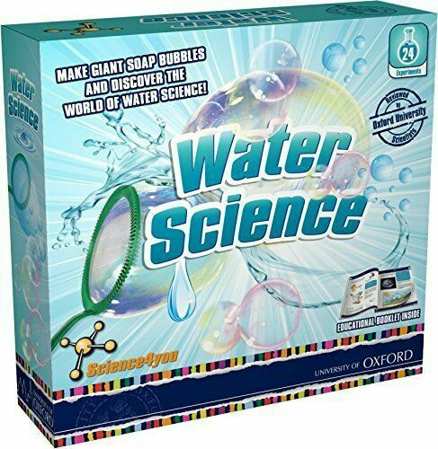 Science4you  397323 Water Science Kit  Educational Science Toy  STEM Toy Packing