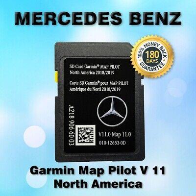 Latest 2019 North America Mercedes-Benz SD Card GPS Navigation V11.0 A2189066003